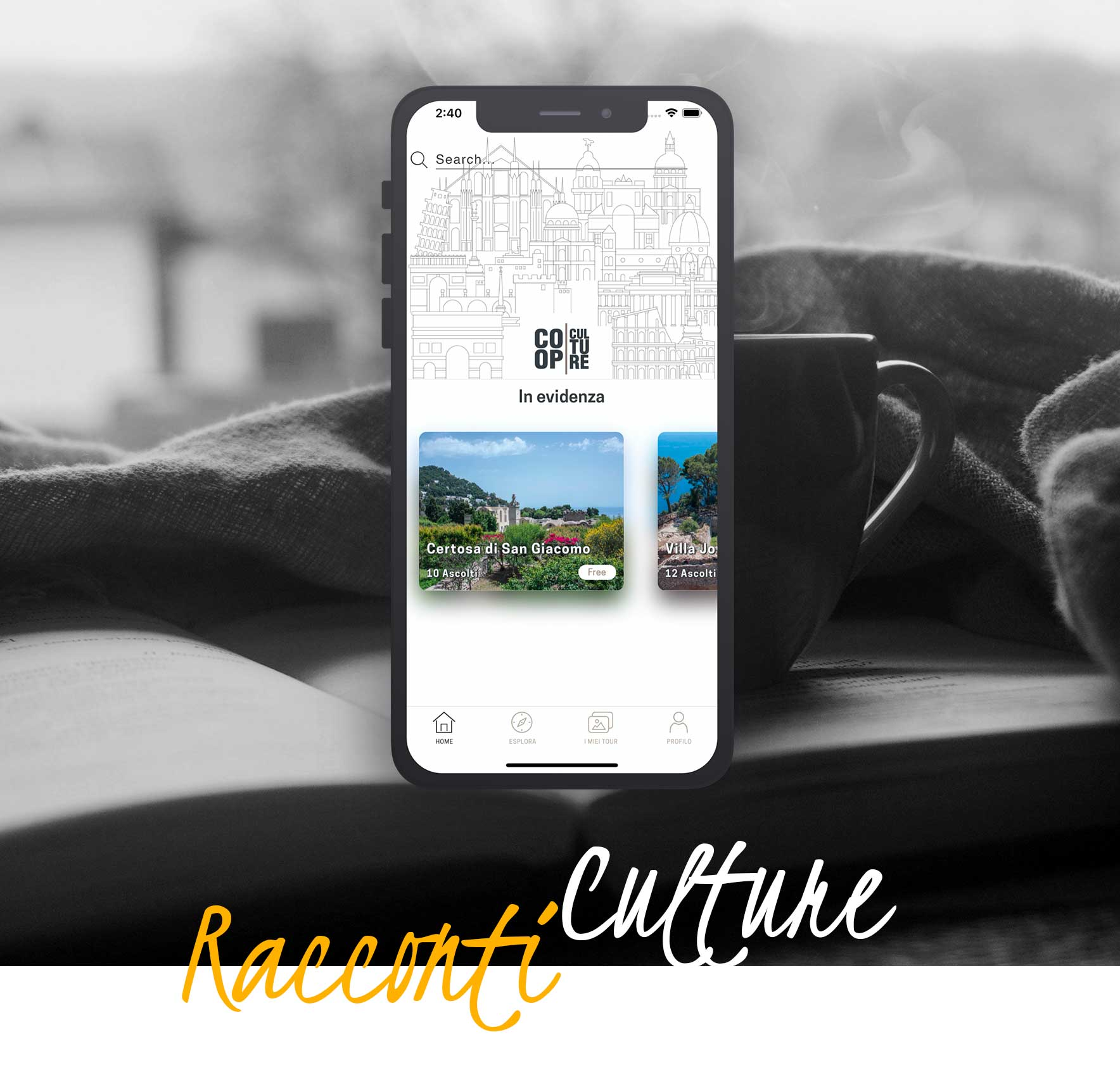 Racconti Culture | Culture at Home